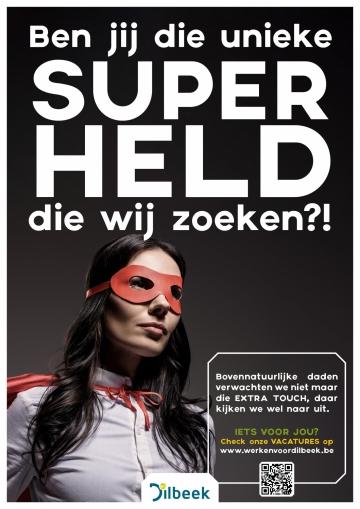 Foto: vrouwelijke superheld