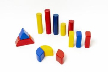foto van blokjes die statistieken vormen