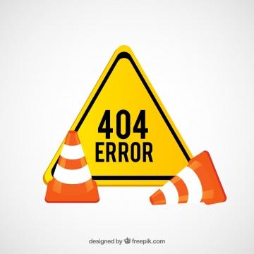 """Afbeelding """"Error '404'"""