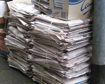 Papierophaling op zaterdag door jeugdverenigingen afgelast