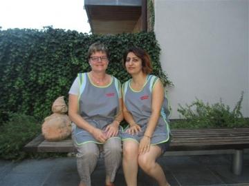 Martine en Christine: onderhoudsmedewerkers