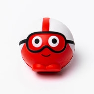 rode neus met bril