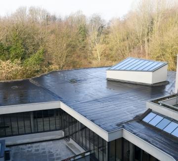 Foto van het dak van Westrand