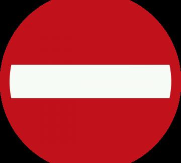 afbeelding van verkeersbord eenrichtingsverkeer