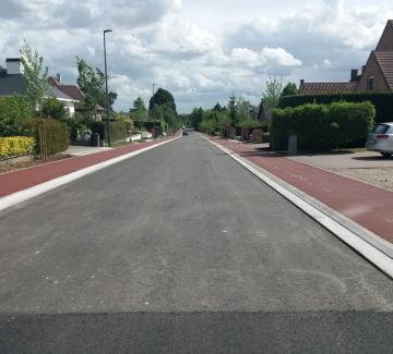 Werken aan Brusselstraat, Hoogveld en Molenberg beëindigd