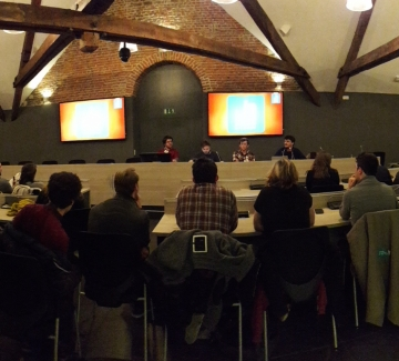 Foto algemene vergadering jeugdraad