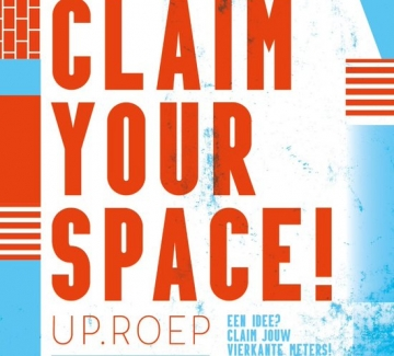 affiche claim your space - 23 september