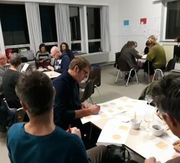 Foto van een workshop in Itterbeek Idee