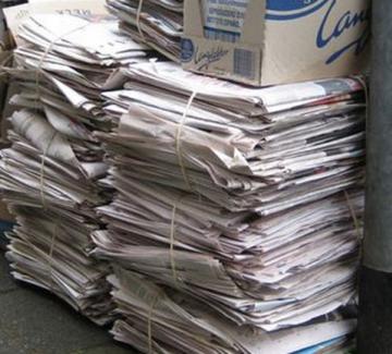 foto van stapel papier