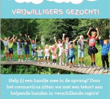 flyer infano vzw zoekt vrijwilligers