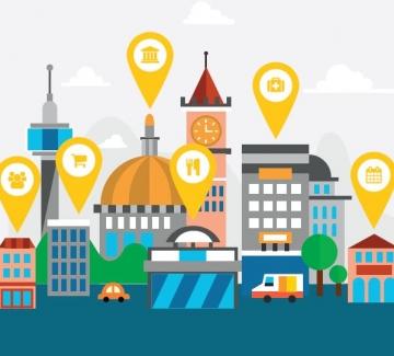 Illustratie van de Dilbeek app