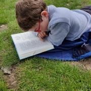 Lezen in het zonnetje
