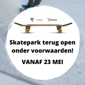 Skatepark terug open vanaf mei