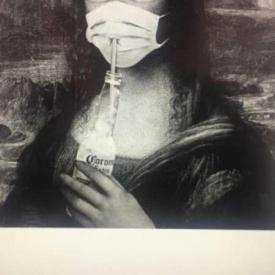 nabootsing schilderij mona lisa