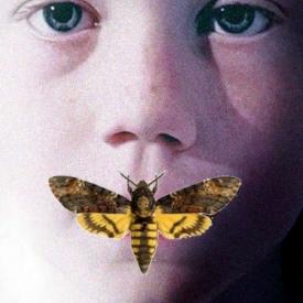 nabootsing schilderij insect gezicht