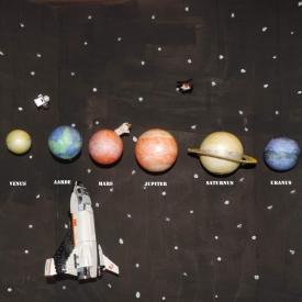 planeten ruimteraket