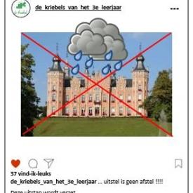 gemeentehuis Dilbeek regen