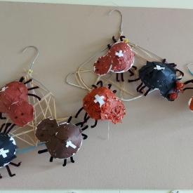 knutselwerkjes spinnen