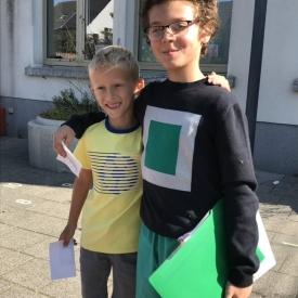 tutorlezen twee jongens