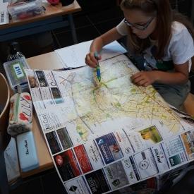 kaartlezen Dilbeek
