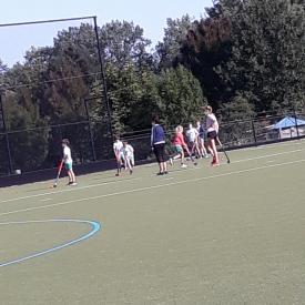 groepje hockeyspelers