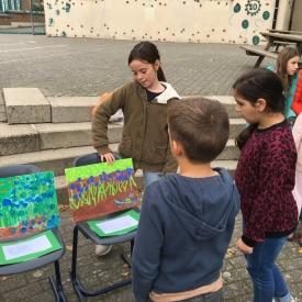 Tentoonstelling 5de leerjaar Van Gogh